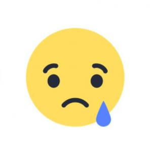 facebook new sad emotion