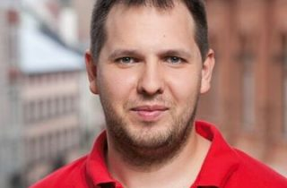 Jaunievēlētais Latvijas Žurnālistu asociācijas valdes priekšsēdētājs Ivo Leitāns.
