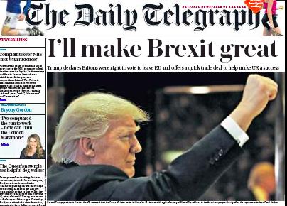 "Daily Telegraph: laiks ""reālpolitikai"""